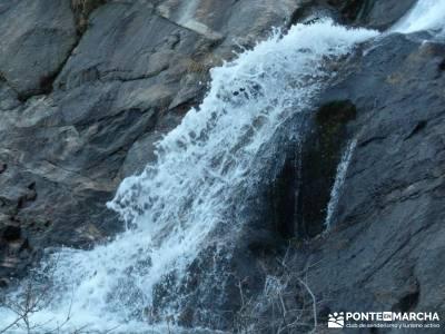 Chorro de San Mamés - Montes Carpetanos - Chorrera San Mamés;rutas gredos senderismo